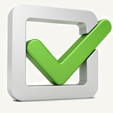Access Cash ATM - Why choose us image - checkbox with a green check mark